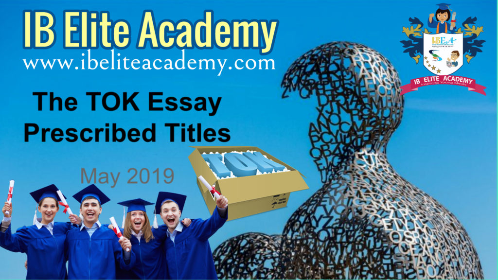 may 2013 theory of knowledge prescribed Pages home knowledge issues knowledge and belief presentation essay sense perception.